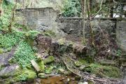 Site of former mill - can you see where the water wheel was